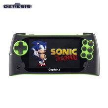"""ЖК SEGA Genesis Gopher 2 4,"""",+ 700 игр(зеленый"""