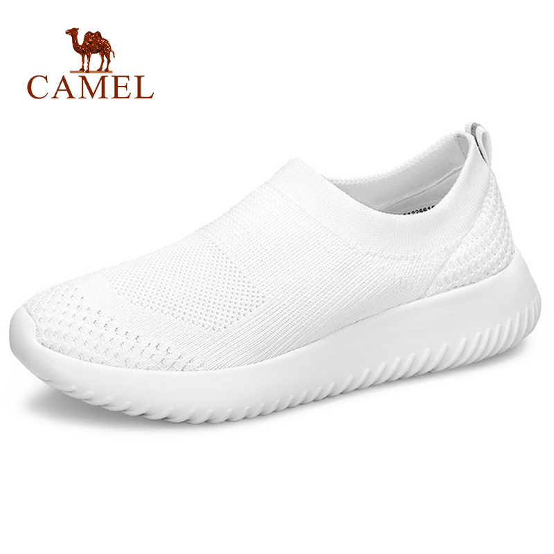 CAMEL  Women Casual Fashion Meash Shoes Women Beathable Mesh Med Heel Single Shoes For Ladies Leisure Wild Student White ShoesCAMEL  Women Casual Fashion Meash Shoes Women Beathable Mesh Med Heel Single Shoes For Ladies Leisure Wild Student White Shoes