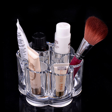1Pcs Acrylic Crystal Makeup Cosmetic Organizer Storage Case Box Makeup Tools Container