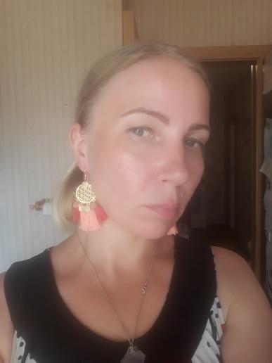 Long Fringe Tassel Drop Earrings photo review