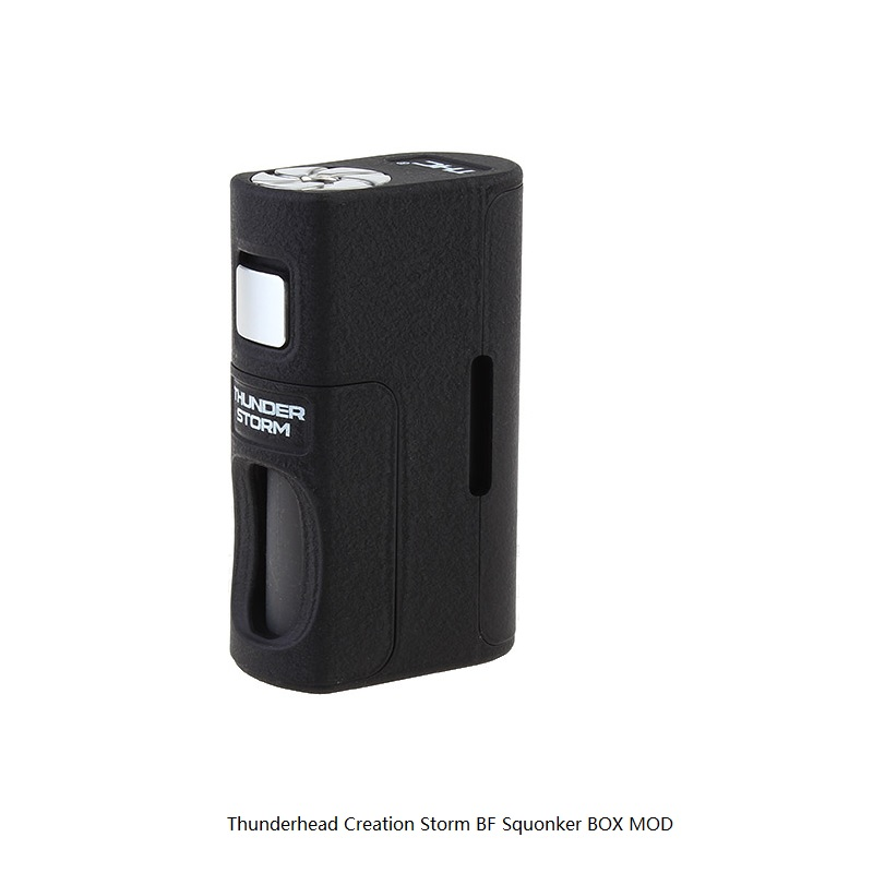 Thunderhead Creation Storm BF Squonker 18650/20700/21700  mech mod /  box mod/ vape mod for atomizer