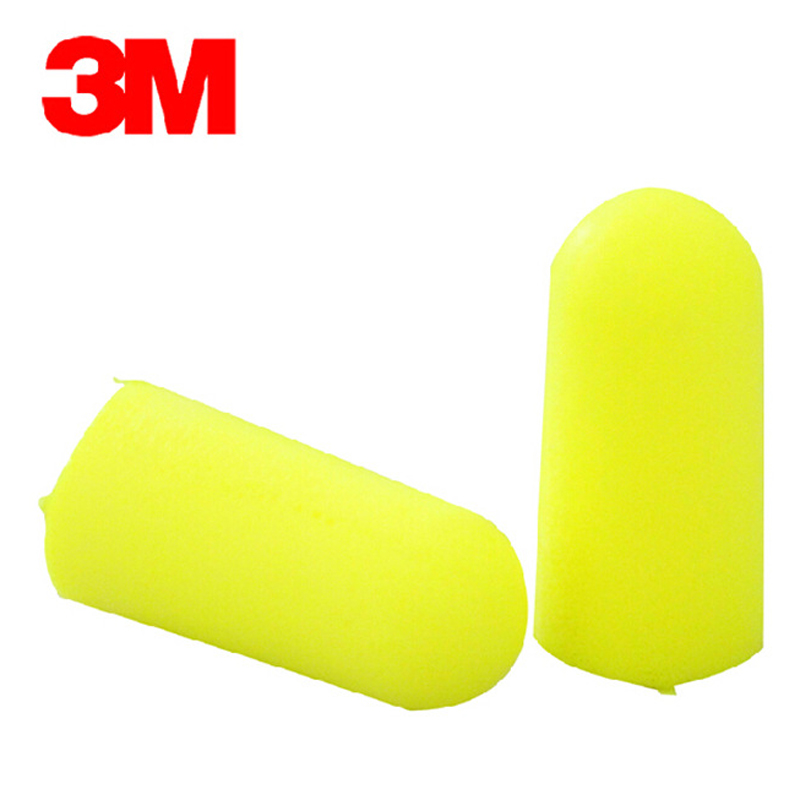 20pairs 3M 1250 Authentic Slow Reboun Foam Soft Disposable EarPlugs Noise Reduction Sleeping Swimming Travel Work Ear Protective
