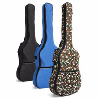 Waterproof Acoustic Guitar Bag Electric Guitar Case Classical Folk Padded Ukulele Cover For Musical Instrument Parts