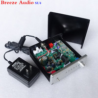 Breeze Audio SU4 Decoder AK4490 AK4118 DAC Support Coaxial Optical USB Input RCA Output