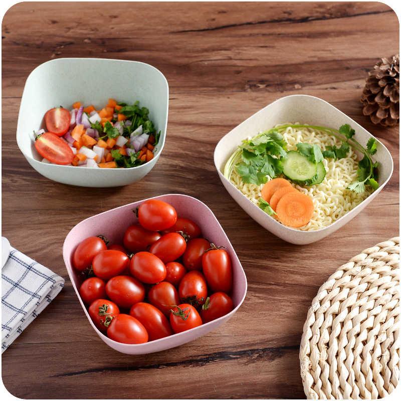 Kreatif rumah A527 dapur peralatan makan mangkuk Nasi mangkuk Salad Buah Segar dari mie dalam sup mangkuk grosir