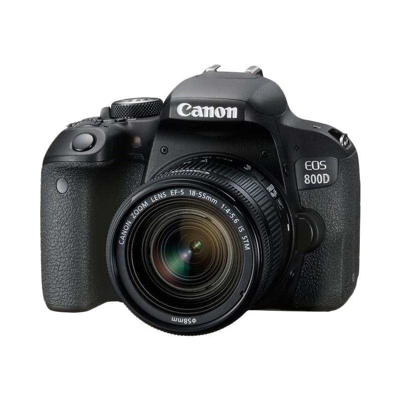 Фото - DSLR Camera Canon EOS 800D 18-55mm black сумка для видеокамеры 100% dslr canon nikon sony pentax slr
