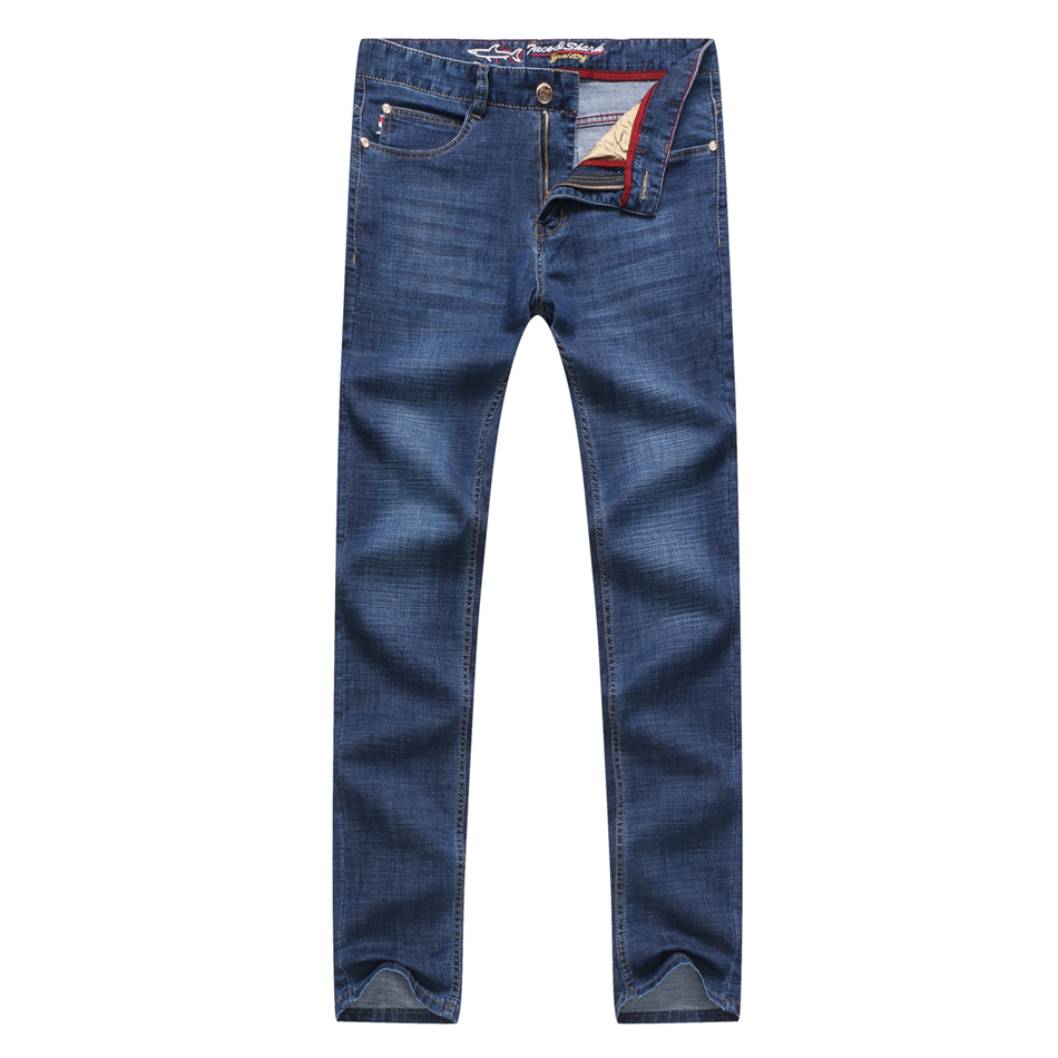 jeans men 2018 New Cotton jeans Tace&shark Brand High Quality Jeans Trousers Summer thin ...