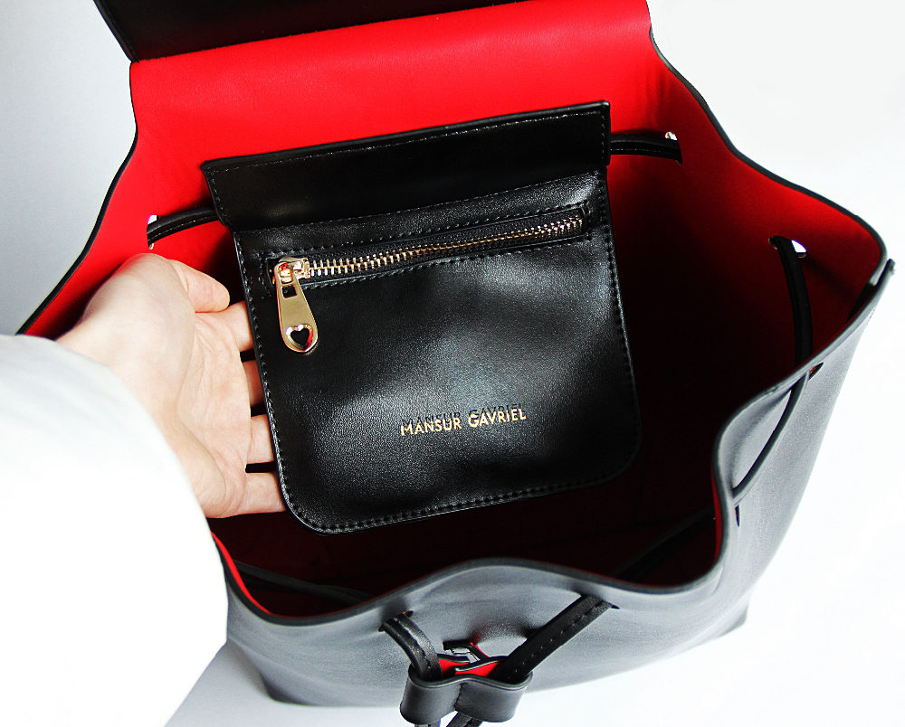 24c02a1a0 Detail Feedback Questions about MANSURSTUDIOS women leather backpack ...