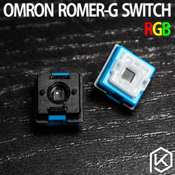 2pcs/set original OMRON Romer-g switch ormon axis for Logitech G910 G810 G310 G413 Pro mechanical keyboard switch