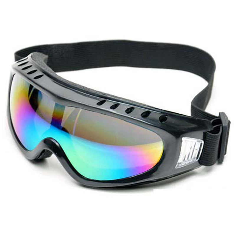 Mountaineering Goggles Color film ski glasses Outdoor Shotting CS wind proof glasses Motorcycle Bicycle Wind proof HD glasses bicycle explosion proof glasses outdoor sun glasses yellow black