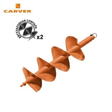 Шнек для грунта CARVER GDB-250/2 двухзаходный