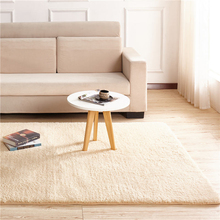 Solid Color Fashion Home Carpet Living Room Area Decor Soft Door Carpets Warm Colorful Bedroom Floor Rugs Slip Resistant Mats
