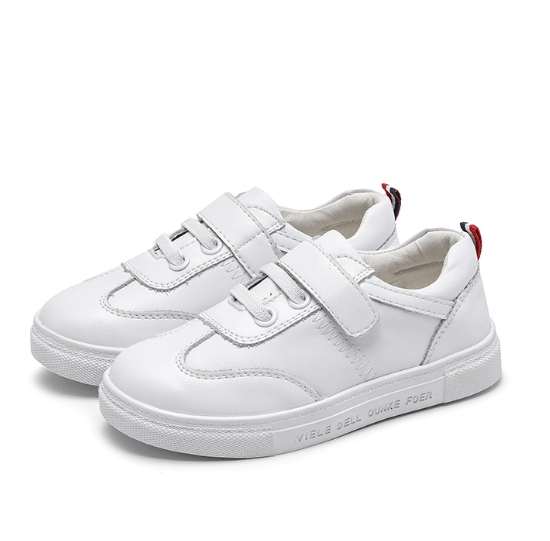 2018 new spring and autumn boy girl shoes children's fashion comfort casual shoes white.