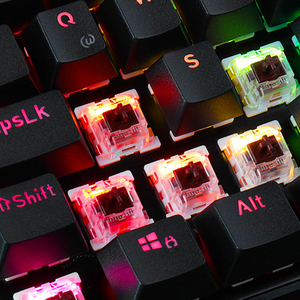 Image 5 - Redragon K556 German Layout Mechanical Gaming Wired Keyboard Brown Switch RGB LED Backlit 104 Standard Keys for Gamer Office
