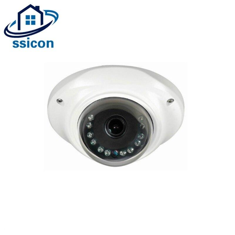 SSICON Mini AHD Caméra 360 Degrés Caméra 2MP Grand Angle CCTV Surveillance Caméra 1.44mm Lentille Fisheye Caméra Intérieure Avec OSD Menu