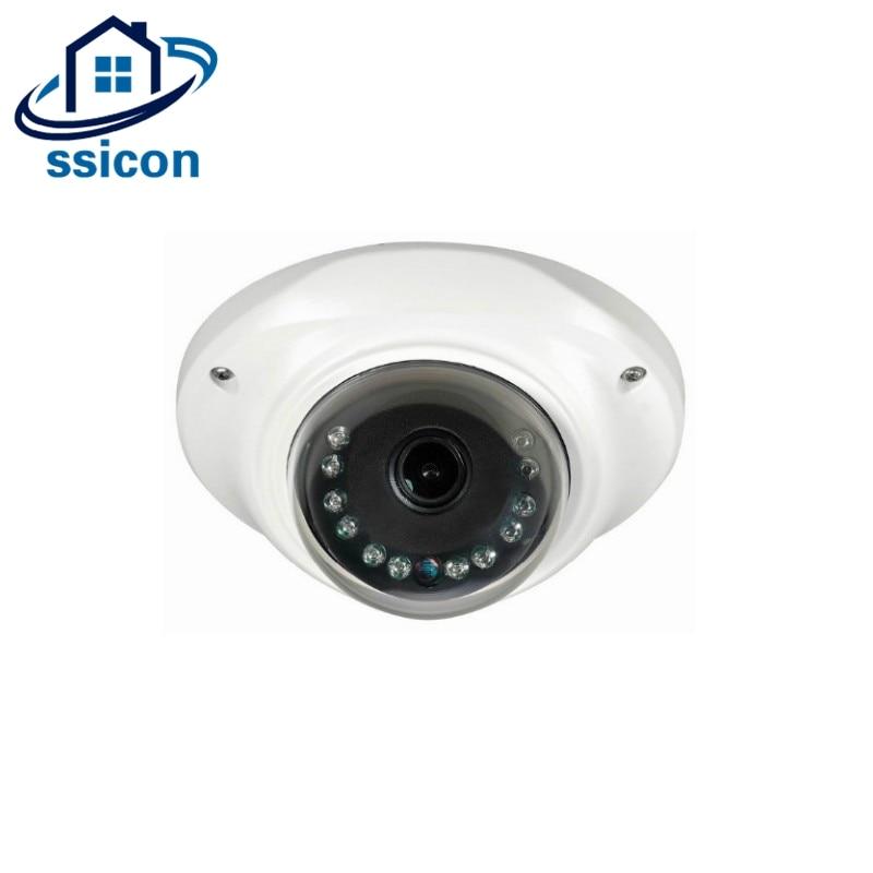 SSICON Mini AHD Caméra 360 Degrés Caméra 2MP Large Angle CCTV Surveillance Caméra 1.44mm Lentille Fisheye Caméra Intérieure Avec OSD Menu
