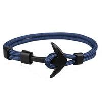 TANGYIN 2018 nouvelle mode survie corde chaîne multicouche ancre bracelets porte-bonheur et bracelets hommes femmes cadeau Sport crochets Style marine