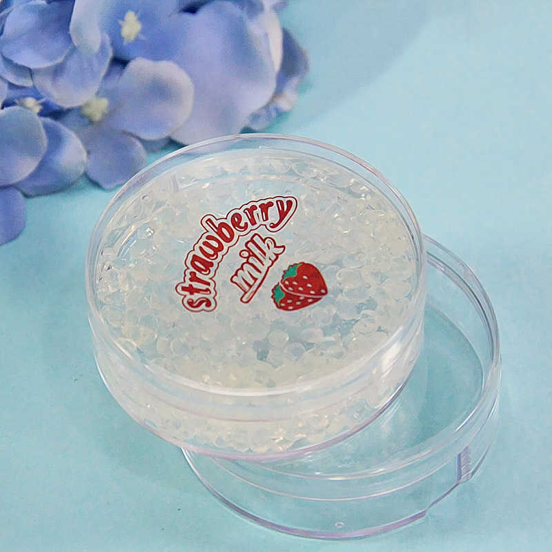 Happy Monkey In Stock 45ml 25pcs/Lot Slime Box Slime Containers Plastic Transparent Storage Box Container For Clear Slime Toy