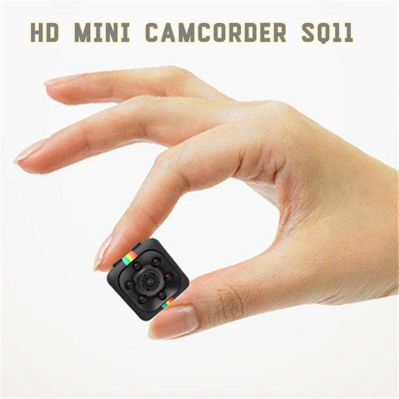 Mini cámara original SQ11 HD videocámara de la cámara de visión nocturna HD 1080 p mini deportes DV video recorder vs SQ8 SQ9