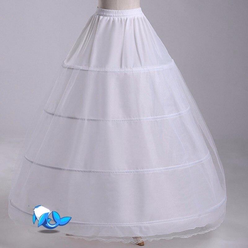 Underklänning för brudklänning Tulle Kvinnor underskirt jupon - Bröllopstillbehör - Foto 4