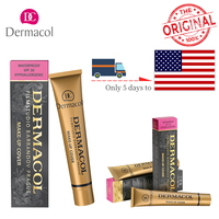 2pc Authentic Dermacol Contour Palette Concealer High Covering Makeup Foundation Waterproof Hypoallergenic Camouflage Dropship