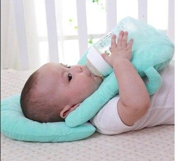 아기 베개 다기능 간호 모유 수유 계층화 된 빨 커버 조절 가능한 모델 쿠션 유아 수유 베개 베이비 케어