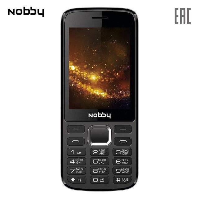 Мобильный телефон Nobby 300 , 2 симкарты, ThreadX, камера, фотокамера, цветной дисплей
