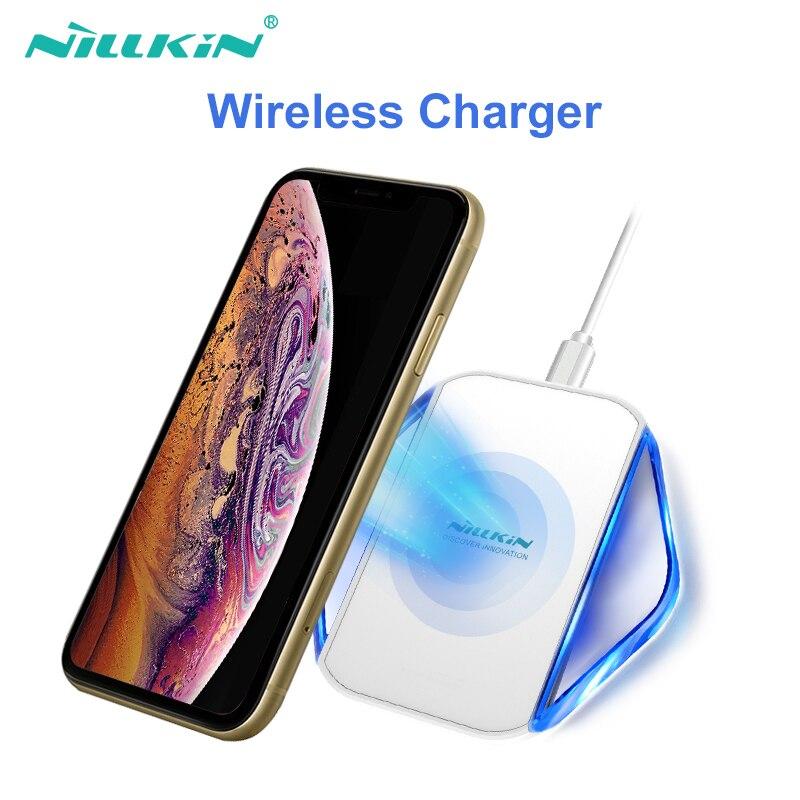 Nillkin Caricatore Senza Fili per iPhone XS/XR/XS Max/X/8/8 Plus per Samsung galaxy S8/Nota 8/S7 per xiaomi qi senza fili del caricatore del bacino