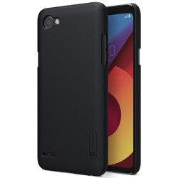LG Q 6 Q6a 커버 LG Q6 케이스 NILLKIN 슈퍼 젖빛 쉴드 매트 하드 다시 커버 전화 케이스 무료 화면 보호