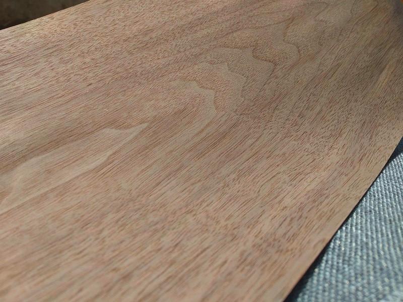 Image 2 - 2x Natural Genuine Wood Veneer Sliced Veneer for Furniture Walnut C/CFurniture Accessories   -