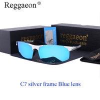 2017 Reggaeon Hot Wrought Aluminum Magnesium Frame Polarized Sunglasses Sunglasses Motion Sunglasses Men Glare Goggles UV400