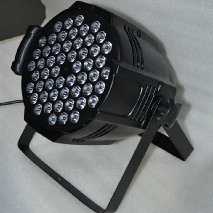 Rgb luz de palco 54 leds par