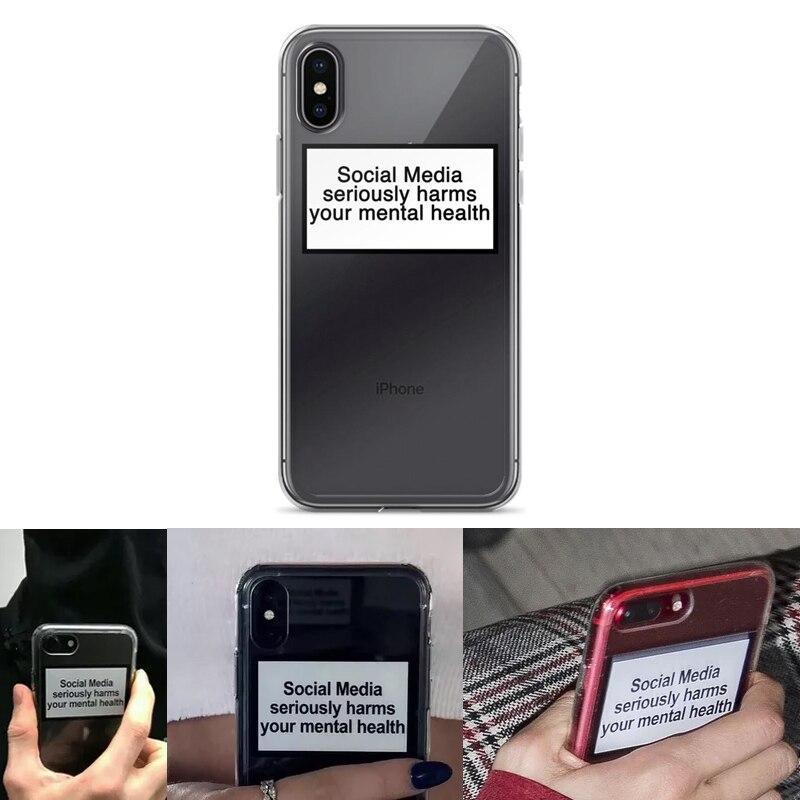 Sociale medier har alvorlig skade på din mental sundhedstilfælde til iPhone X
