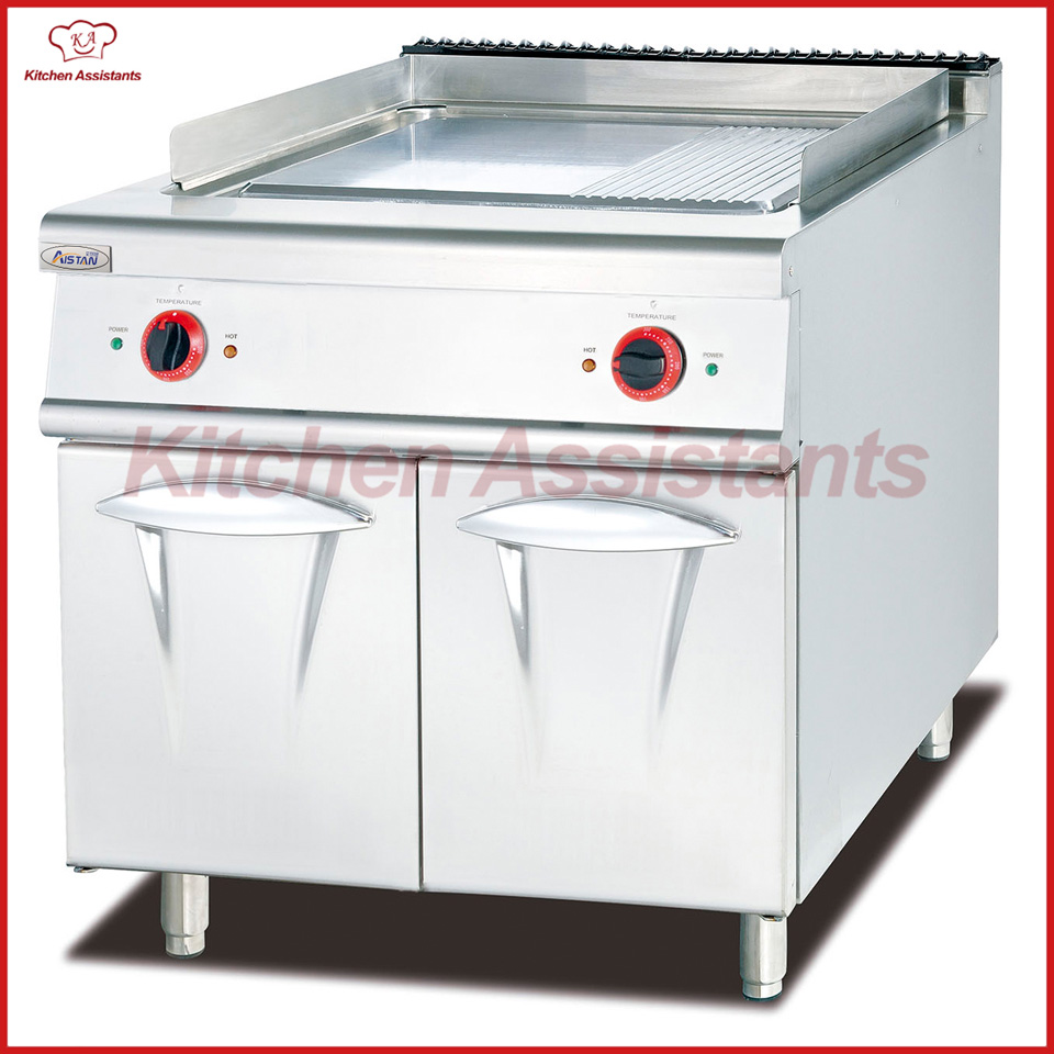 все цены на EH886 electric commerical vertical griddle with cabinet with 1/3 Grooved онлайн