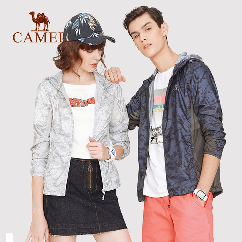 CAMEL Summer Sun Protective Coat Jacket Women Men Clothing UV Waterproof Hiking Camping Outdoor Windproof Lightweight 2019(China)