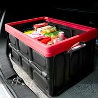 TG Motors Car Organizer Car Trunk Storage Box Multi function Folding Storage Box Trunk Box Bag Trunk Organizer Travel