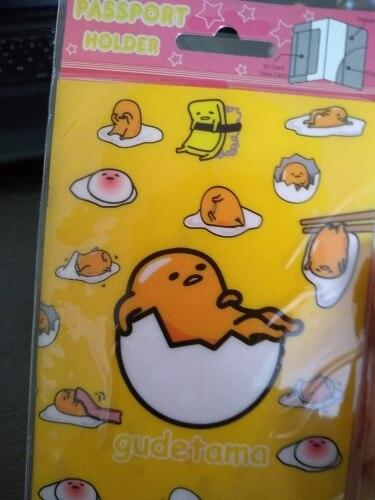 Europa Cartoon Style 2D Paspoort Houder PVC Paspoort Beschermhoes Voor Reizen, 14 * 9.6cm Kaart & ID Houders Mini Bestellen 1pcs-Mr eieren photo review