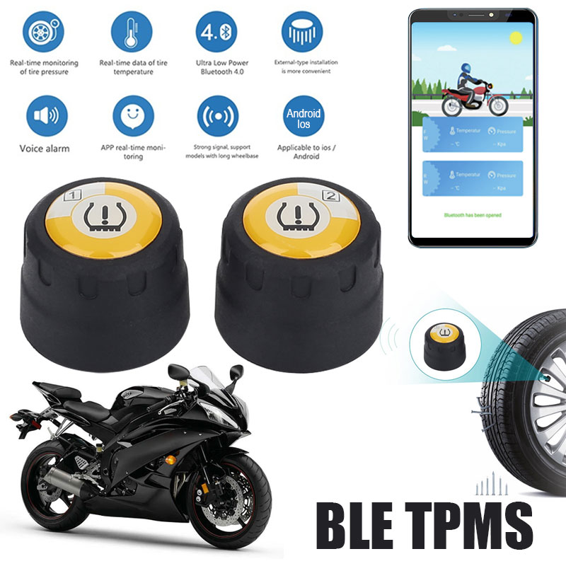 Special Price] TPMS Motorcycle Bluetooth Tire Pressure Monitoring