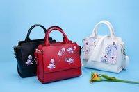 2017 Woman Bag PU Shoulder Bags Large Leather Tote Designer Handbags High Quality China Wind Printing