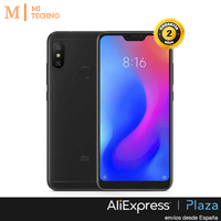 Global Version, Xiaomi A2 lite 3 GB + 32 GB, Color Black Gold and Blue, google Play and Castilian installed, Camera dual.