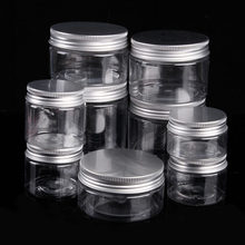 30-250 ML Aluminium Cap Cosmetische Tin Pot Lippenbalsem Jar Containers Olie Wax Lege(China)