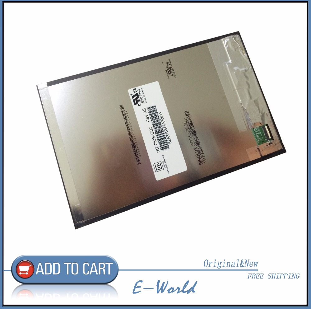 Original and New For <font><b>Asus</b></font> Memo Pad <font><b>7</b></font> ME176CX ME176 K013 & <font><b>FonePad</b></font> <font><b>7</b></font> ME375 FE375CG <font><b>K019</b></font> LCD Display Screen Free Shipping image