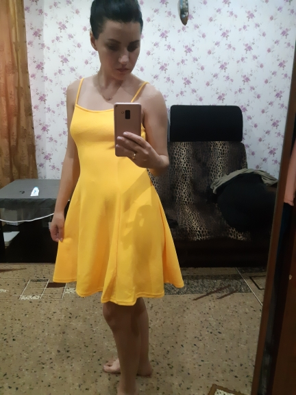 Yellow Criss Cross Open Back Sexy Dresses Party Night Club Women Clothes Summer High Waist Sleeveless Slip Dress photo review