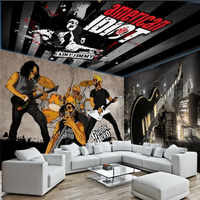 Cool rock music theme wall professional production wallpaper mural