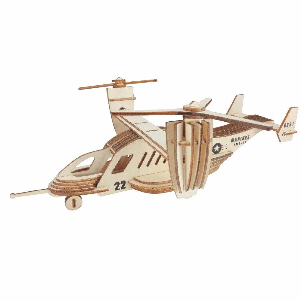 Osprey транспорта пазл детские игрушки 3D головоломки деревянные игрушки деревянные головоломки Развивающие игрушки для детей