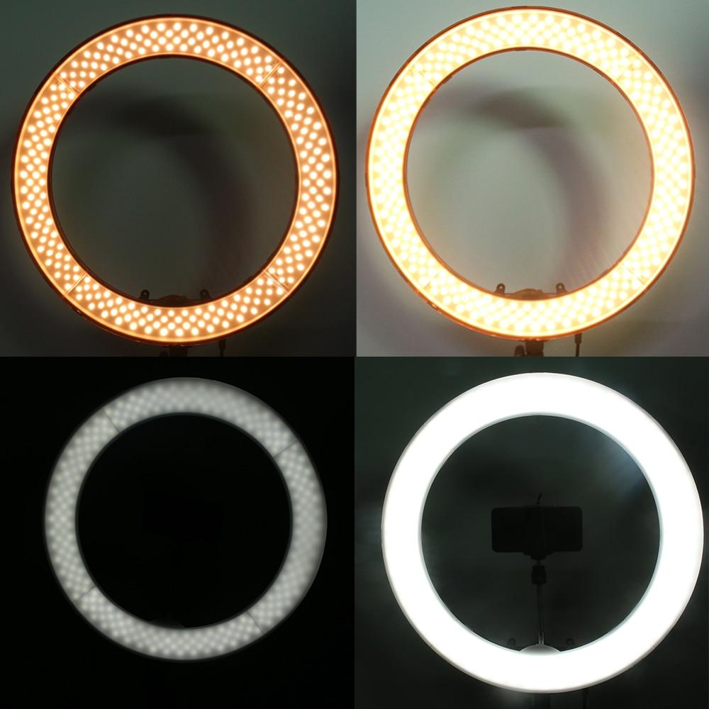 Aparat fotografic de studio Telefon video 55W 240PCS Lampă cu inel - Camera și fotografia - Fotografie 3