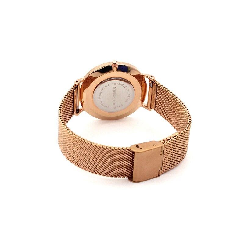 Quartz Πολυτελή Μάρκα Rose Χρυσό ματιών - Γυναικεία ρολόγια - Φωτογραφία 3