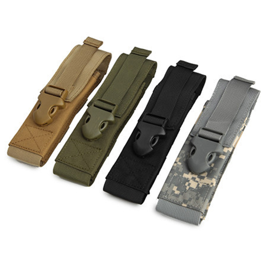High Quality Led Flashlight Holster Nylon Oxford Belt Torch Cover Small Case Light Pouch Tactical Fishing Hunting Accessories Lovely Luster