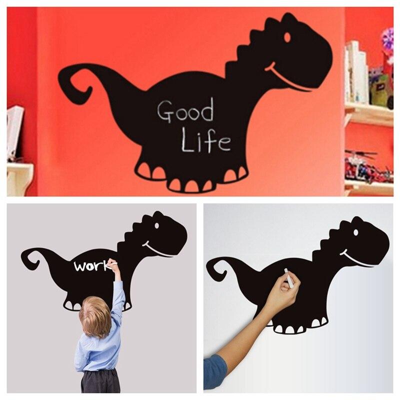 55x85cm Chalk Board Dinosaur Blackboard Stickers Vinyl Draw Decor Mural Decals Art Chalkboard Wall Sticker for Kids Rooms
