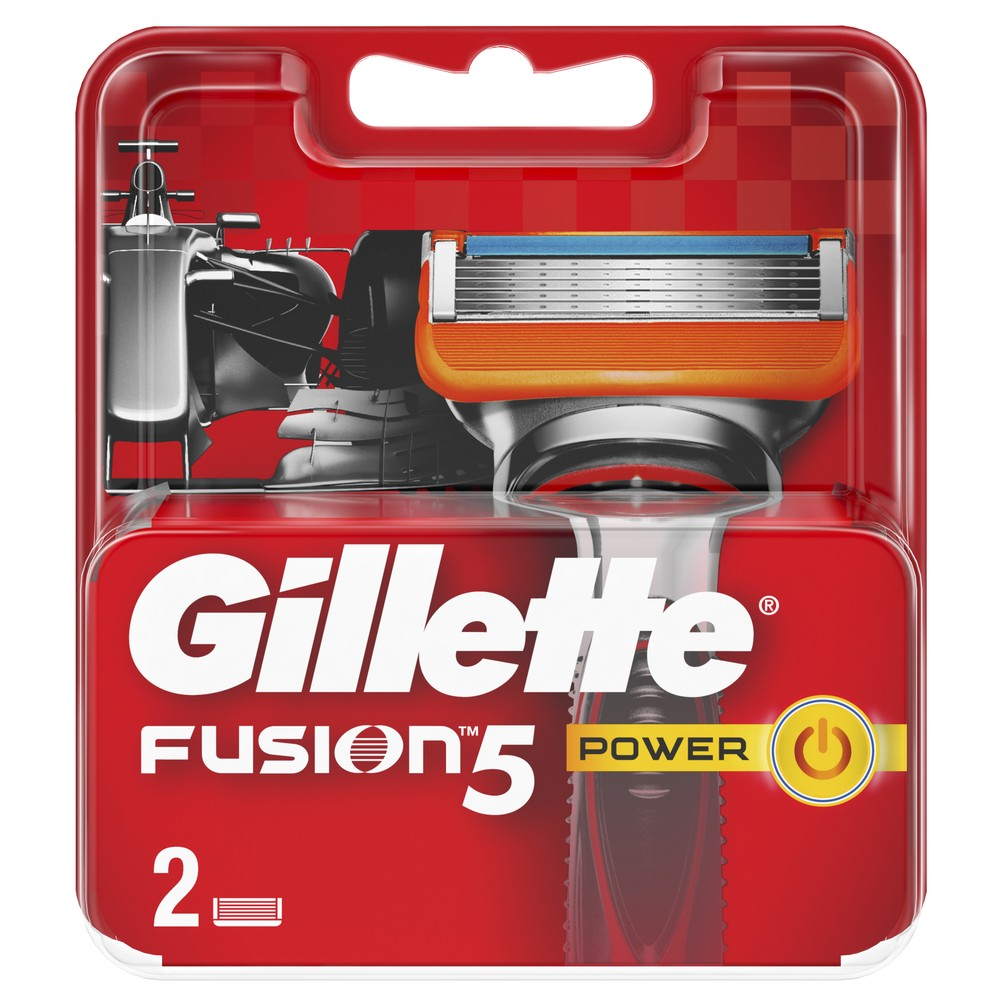 Replaceable Razor Blades for Men Gillette Fusion Power Blade shaving 2 pcs Cassettes Shaving  Fusion shaving cartridge removable razor blades for men gillette fusion blade for shaving 4 replaceable cassettes shaving fusion shaving cartridge fusion
